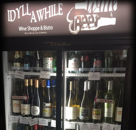 "Idyllwild, CA: Cold Wine ""To go"" ~ Sold Here~"
