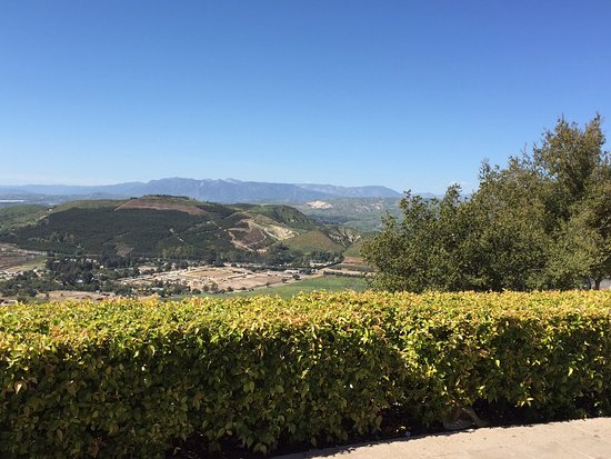 View of Simi Valley from the restaurant patio