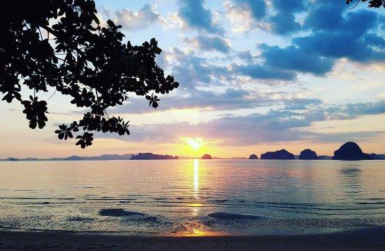 The Tubkaak Krabi Boutique Resort: Sunset