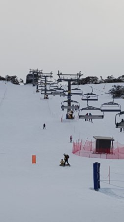 Perisher Valley, Australia: chairlift