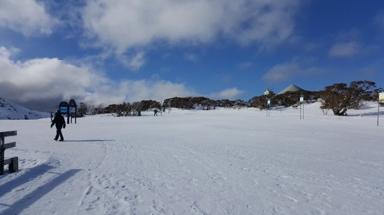 Perisher Valley, Australia: Up at Bluecow