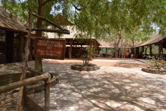 La Petite Cote, Senegal: Eingang zum Restaurant