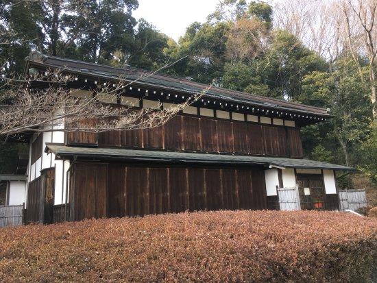Machida, Japón: 古民家外観(2017.3 修復中で内部の見学不可でした)