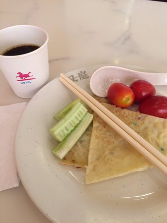 Hanting Hotel (Shanghai Shanxi South Road): Hotel breakfast