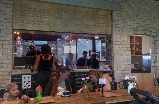 Caversham, Australia: Servery