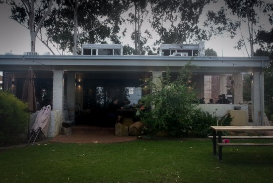 Caversham, Australia: Rear of restaurant