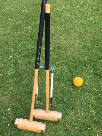 Ruthin, UK: croquet anyone?