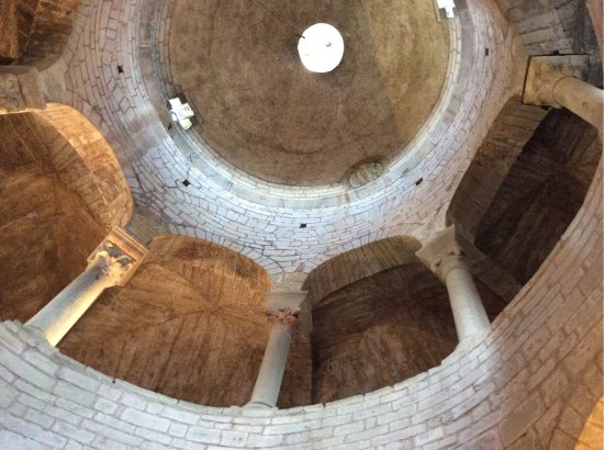 Almenno San Bartolomeo, Italy: interno (cupola)