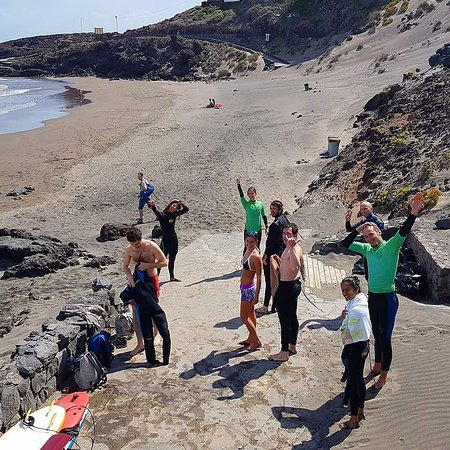 Poris de Abona, Spain: Secret Surf School Tenerife