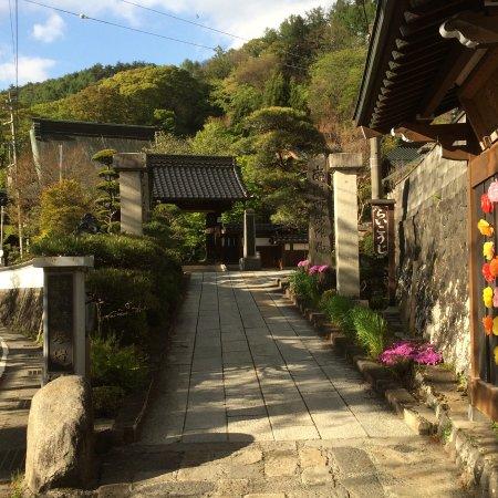 Shimosuwa-machi, Japan: 寺院への参道