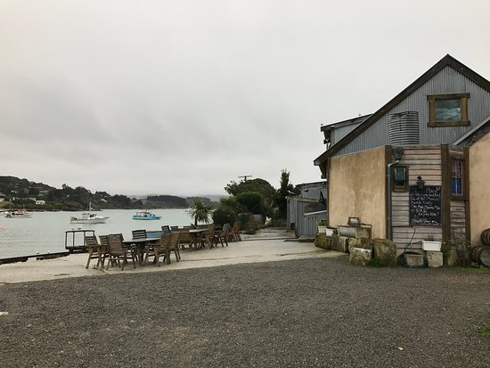 Moeraki, Nueva Zelanda: A welcome return to a favourite place. Even if it's just a seat at the bar.
