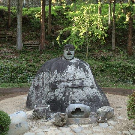 Shimosuwa-machi, Japan: 万治の石仏