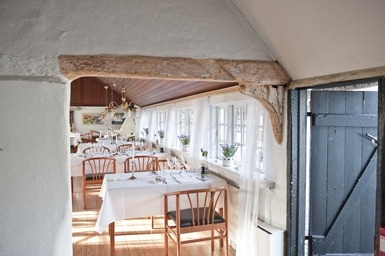 Laesoe Island, Danmark: The gourmet restautant