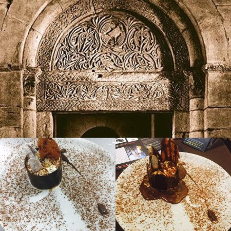 Saint-Gilles, Frankrike: Mousse au chocolat