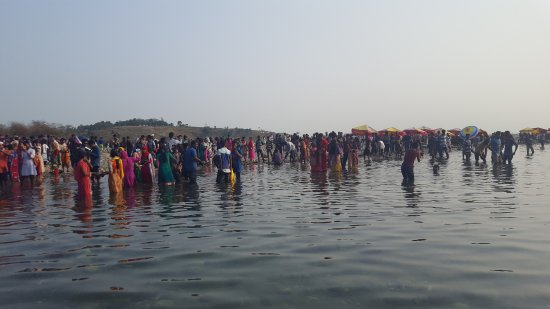 Meghalaya, India: Crowded Bangladesh border