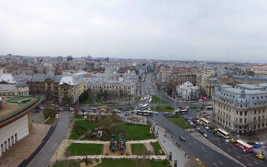 InterContinental Bucharest: View from balcony