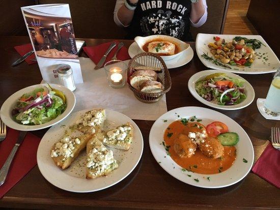 Heinsberg, Deutschland: 4 Vorspeisen + Salate für 2 Personen
