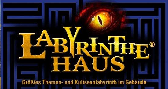 """Altenburg, Deutschland: Labyrinthehaus """"Kommst Du wieder raus?"""""""
