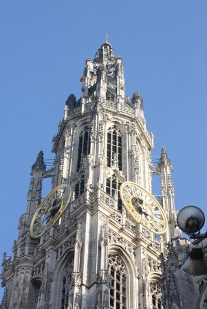 Catedral de Nuestra Señora (Onze Lieve Vrouwekathedraal): Only the town Hall of Brussels is a competitor of the Antwerp`s Cathedral by the beauty of its s