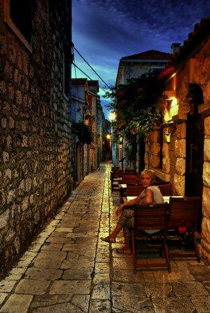 Hvar Island, Kroatien: Stare misto