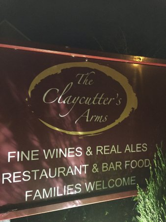 Chudleigh Knighton, UK: The Claycutters Arms