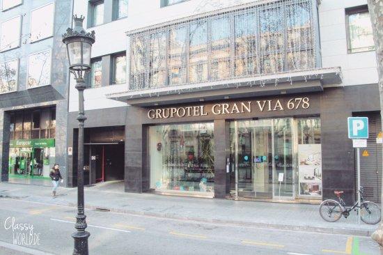 grupotel gran via 678 picture of grupotel gran via 678 barcelona tripadvisor. Black Bedroom Furniture Sets. Home Design Ideas