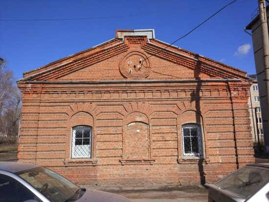 Yuryev-Polsky, Russia: Здание старинного амбара