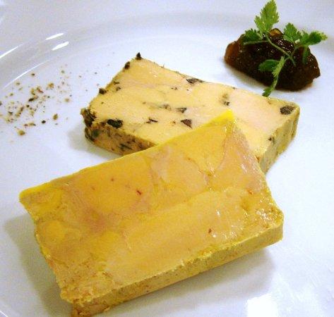 Meyreuil, Франция: Foie gras de canard maison