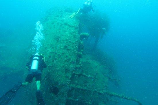 Sangat Island, Philippines: Wreck Dive