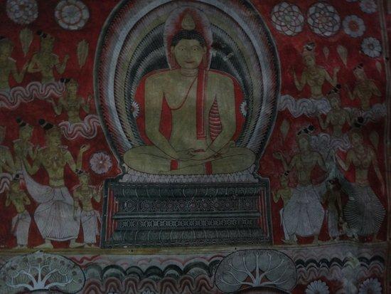 Dambulla, Sri Lanka: 内部