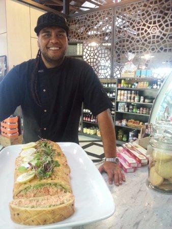 Thames, Yeni Zelanda: Owner & head chef Vic