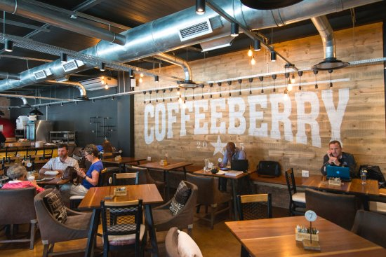 Pietermaritzburg, South Africa: Inside view of the Coffeeberry wall.