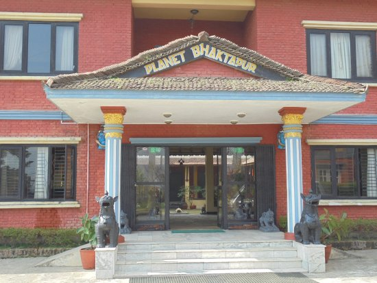 Planet Bhaktapur Hotel: Ingresso dell'hotel
