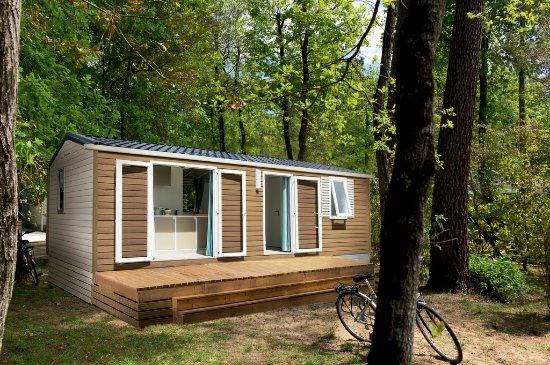 Medis, Frankrig: mobilhome terrasse couverte