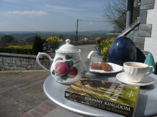 Bratton Fleming, UK: 35 mile view at Bratton-view