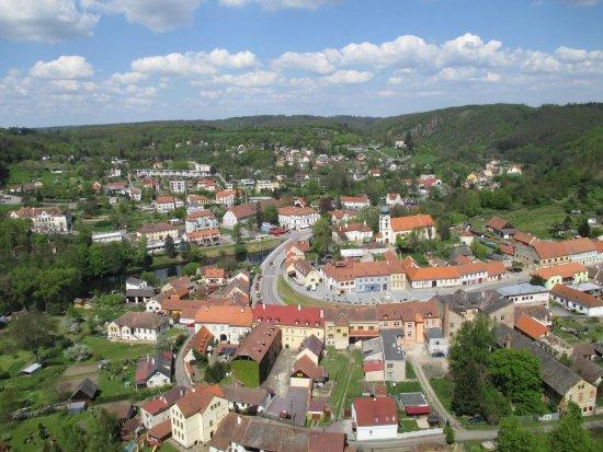 Vranov nad Dyji, Czech Republic: Výhled ze zámku