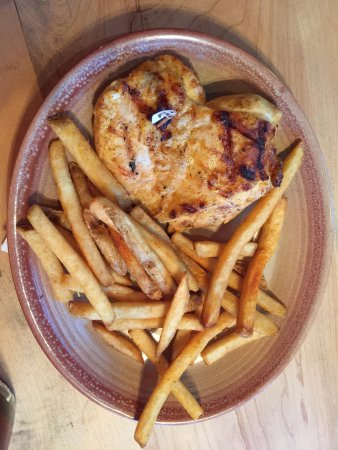 Gambrills, MD: Chicken breast with fries