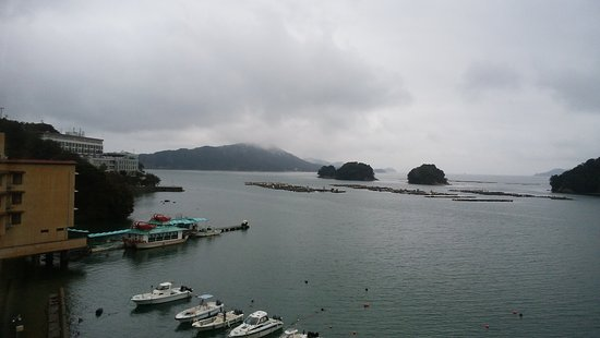 Hotel Meyurara: 三つ島がきれいです。