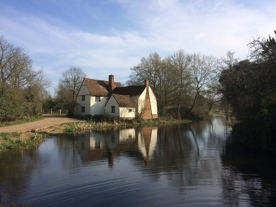 East Bergholt, UK: Flatford Mill, March 2017