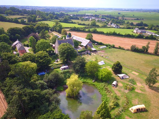 Isigny-sur-Mer, ฝรั่งเศส: The camp site