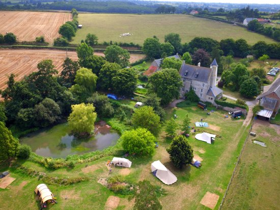 Isigny-sur-Mer, ฝรั่งเศส: Camping site