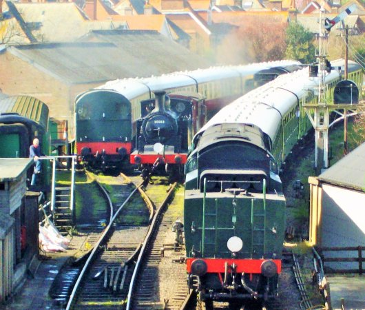 Swanage Railway: For steam railway enthusiasts,it does not get more exciting than this!