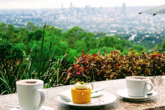 Brisbane, Australien: Coffee with a view