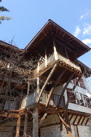 Melnik, Bulgaria: cool staircase