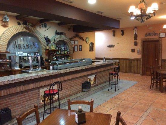 La Puebla de Montalban, Espanha: Restaurante Aranda