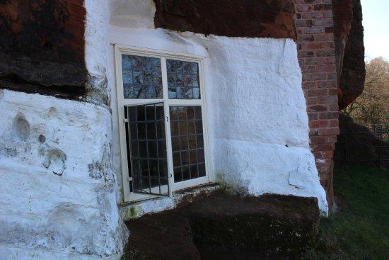 Stourbridge, UK: Window of one of the rock houses at Kinver.