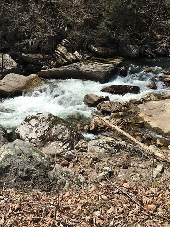 Wonderful place for a day hike or an overnight camping trip!  Easily missed in Dayton Tennessee,
