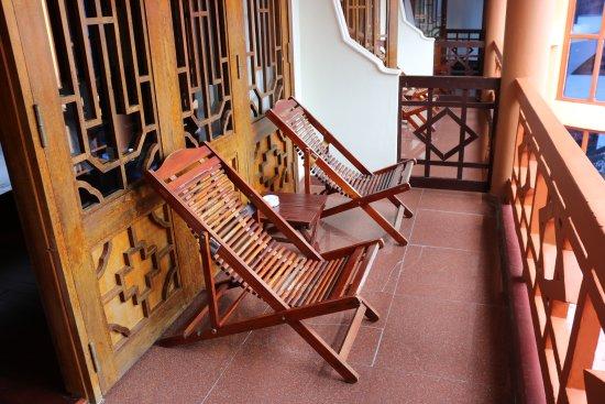 Thanh Binh III Hotel: Veranda