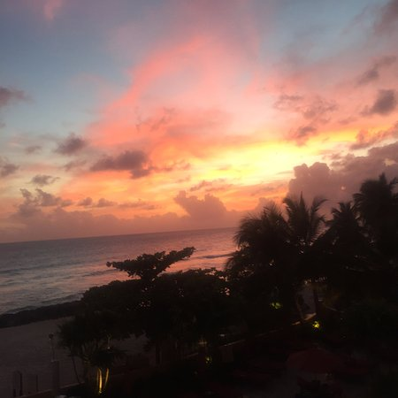Ocean Two Resort & Residences: Sunset view from 3rd floor balcony