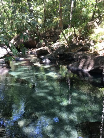 Rio Perdido: Thermal pools
